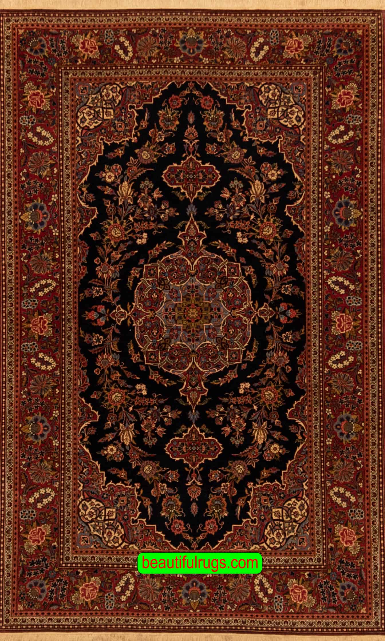 Picture of: Blue Abstract Rug Kashan Rugs Rugs Highland Park Persian Rug Sale