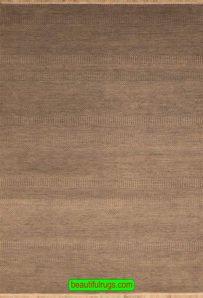 Handmade Rug, Contemporary Rug, Grey Color Rug From India, 6x9 Rug, main image