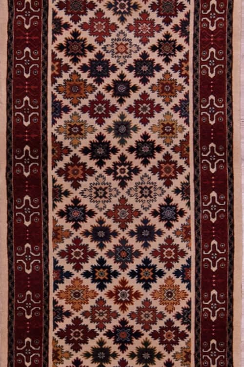 12 ft Runners, Qashqai Runner Rug, Tribal Runner Rug, main image, size 2.6 x 12.6