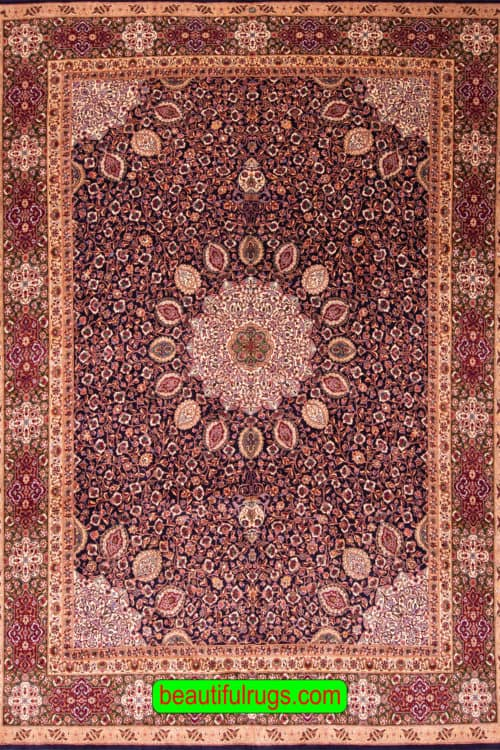 Shah Abbas Rug, Persian Tabriz Rug at Our Rug Gallery, main image, size 10 x 13