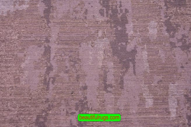 8 Foot Runner, Contemporary Runner Rug, Indian Rugs, backside image, size 2.7 x 8