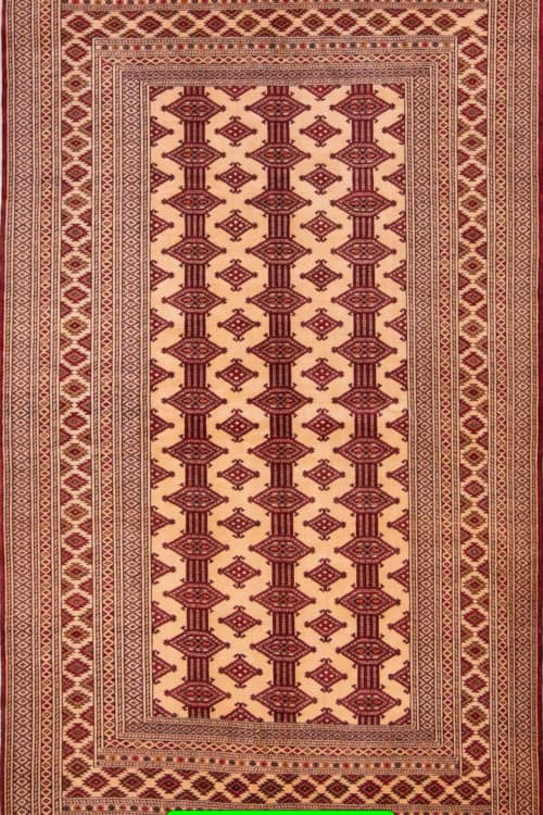 Turkmen Rug, Persian Baluch Rug, Old Tribal Rug, main image, size 4.8x6.4