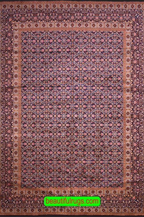 10×12 Rug, Persian Kerman Rug, Allover Design Rug, main image, size 10x12