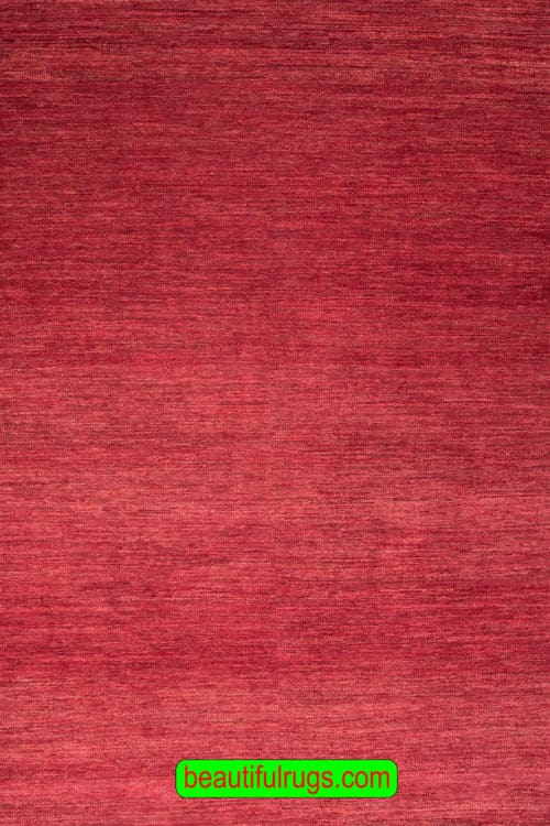Red Rug, Plain Rug, 9x12 Size Rug, main image, size 8.9x12.1