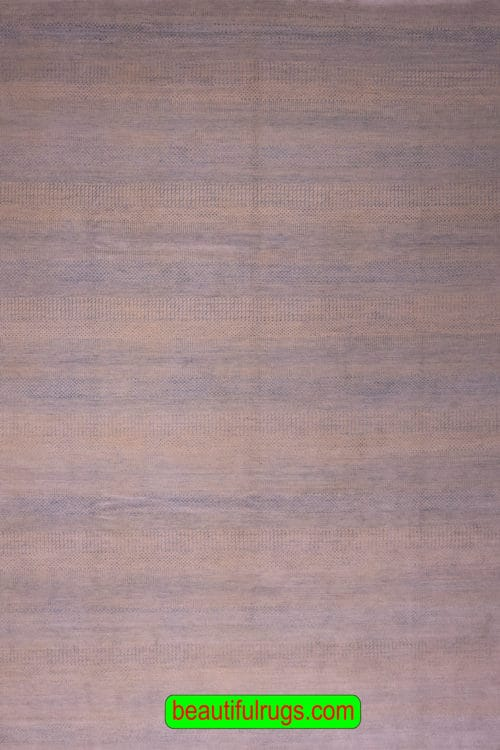 Gray Blue Contemporary Rug for Gray Blue Couch, main image, size 9x11.10