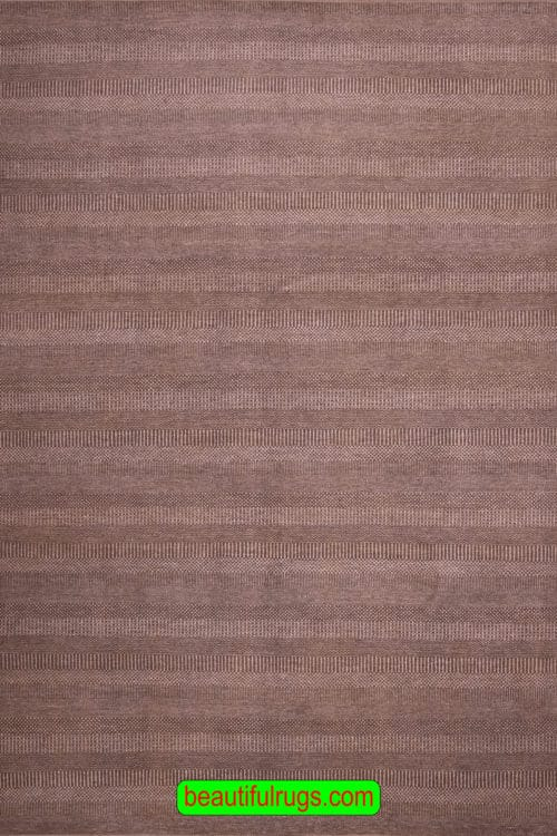9x12 Rug, Brown and Beige Color Contemporary Rug, main image, size 9.3x12