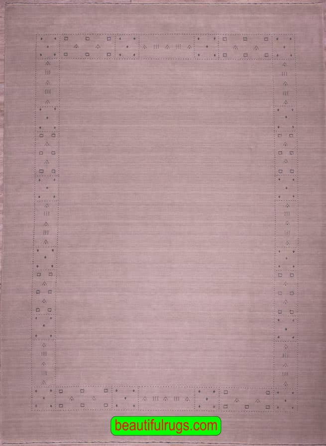 9×12 Rug, Contemporary Indian Gabbeh Rug, main image, size 9.1x12.2
